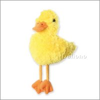 Finger puppet yellow duckling