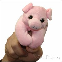 Pig - walking finger puppet