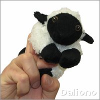 Sheep - walking finger puppet