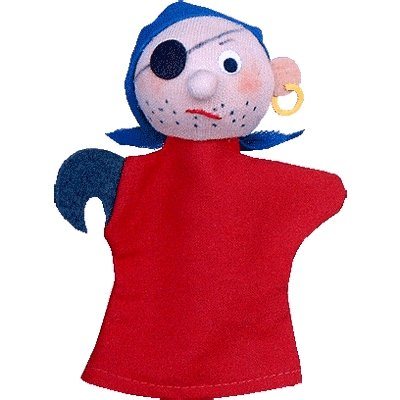 Trullala finger puppet pirate