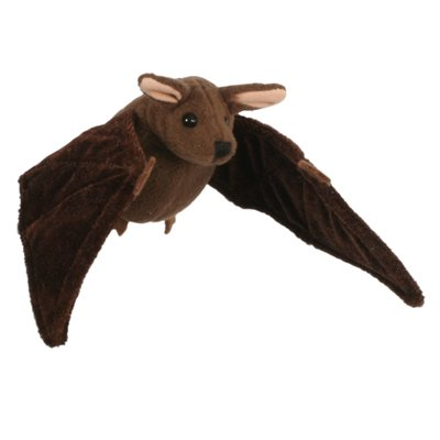 Finger puppet brown bat