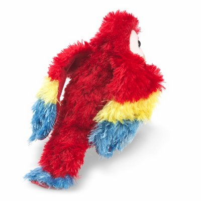 Folkmanis finger puppet mini scarlet macaw