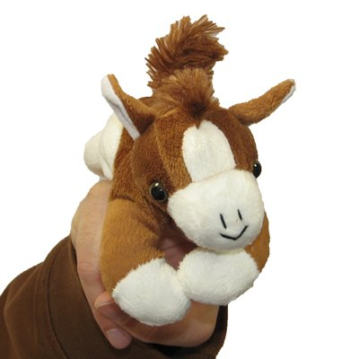 Horse - walking finger puppet