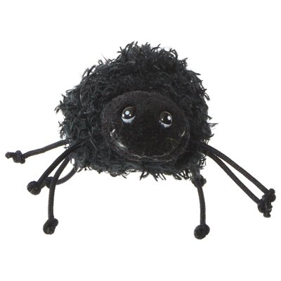 Finger puppet furry spider