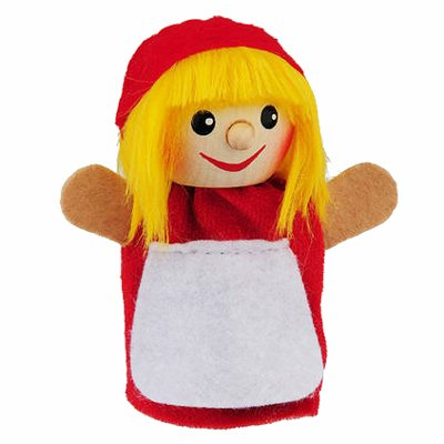 Finger puppet little red riding hood - KERSA Fipu