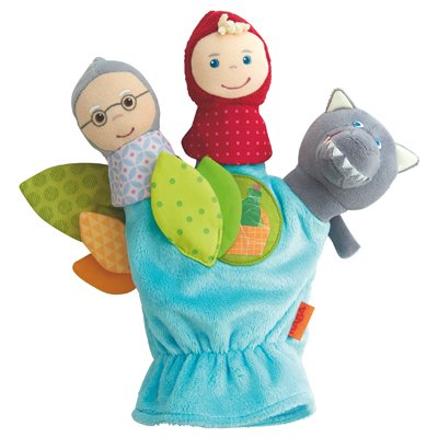 Glove finger puppets - Little Red Riding Hood by HABA