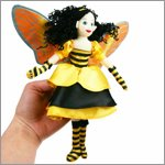Finger puppet bee fairy