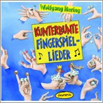 Kunterbunte Fingerspiel-Lieder - audio CD (german)
