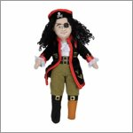 Finger puppet pirate