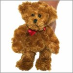Finger puppet teddy bear