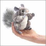 Folkmanis Fingerpuppe mini Chinchilla